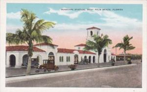 Florida West Palm Beach Seaboard Railroad Station