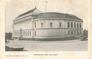C.1898 Horse Carriages Corcoran Art Gallery Washington D.C. Postcard 2T5-259