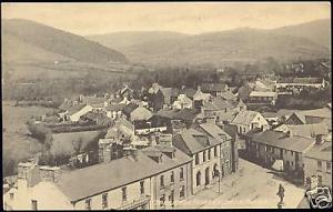 wales, TREGARON, Street View from Church Tower (1910s)