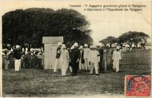 CPA TAMATAVE Mr Augagneur gouv. Gen. et dependances MADAGASCAR (709656)