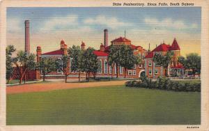 State Penitentiary, Souix Falls, South Dakota, Early Postcard, unused