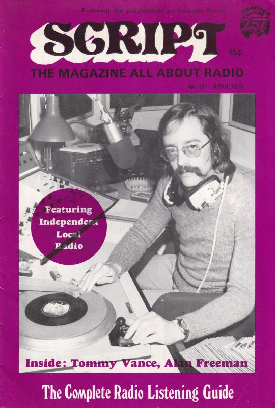 Tommy Vance Alan Freeman Adrian Jay Swansea Pirate Radio DJ Book