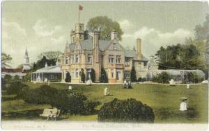 The Mount, Bishopstoke, Hants, Hampshire, England, UK, Divided Back