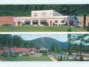 Pre-1980 OLD CARS & MOTEL 22 MOTEL Mount Union Pennsylvania PA M2797