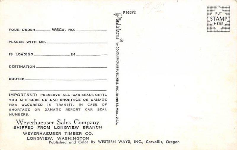 Weyerhaeuser Camp Coweeman Longview, Washington, USA Unused
