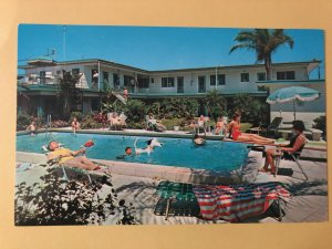 Island Queen Motel on Clearwater Beach, Florida (FL-27)