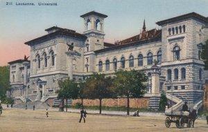 LAUSANNE, Switzerland, 1900-10s; Universite
