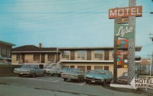 RIMOUSKI , Quebec , Canada , 40-60s; Motel Lyse