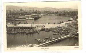 RP: Barcelona, Spain, 1910-1920s Vista Parcial, Boats