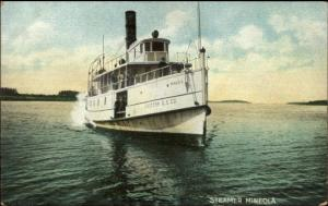 Eastern SS Co Maine Steamer Mineola c1910 Postcard