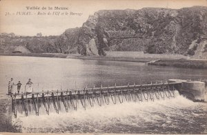 FUMAY, Ardennes, France, 1900-1910's; Roche De L'Uf Et Le Barrage