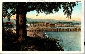 California Santa Cruz Casino and Pier Curteich