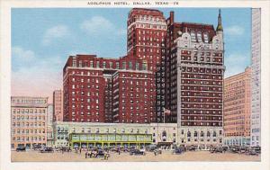 Texas Dallas Adolphus Hotel