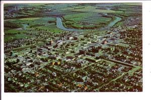 Aerial View, Brandon, Manitoba,