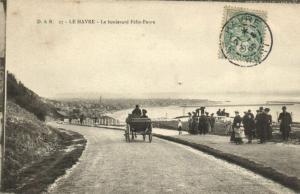 CPA  Le Havre - Le boulevard  Félix-Faure   (201139)
