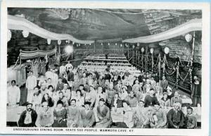 KY - Mammoth Cave, Underground Dining Room