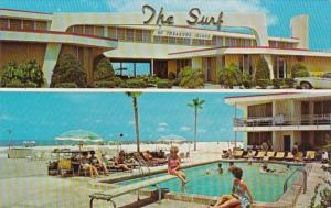 Florida St Petersburg The Surf Of Treasure Island 1972