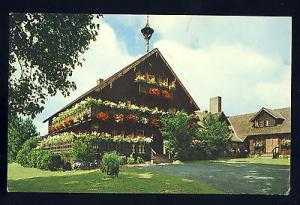 Nice Stowe, Vermont/VT Postcard, Trapp Family Lodge