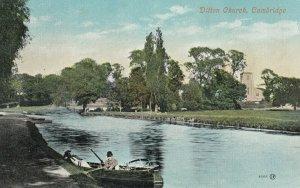 CAMBRIDGE , England , 1900-10s ; Ditton Church