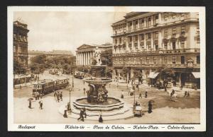 Calvin Square Budapest Hungary Unused c1920s