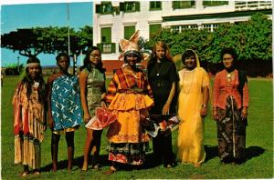 CPM SURINAME-Amerindian-Bushnegro-Chinese-Creole Dutch Indian-Indonesian(330304)