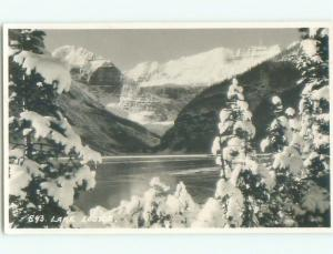 old rppc NICE VIEW Lake Louise Alberta AB W0846