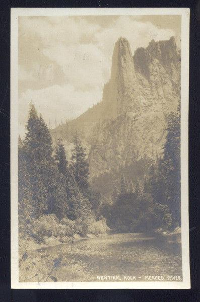 RPPC CAMP CURRY CALIFORNIA 1932 MERCED RIVER YOSEMITE PARK REAL PHOTO POSTCARD