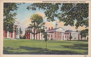 Washington And Lee University Lexington Virginia