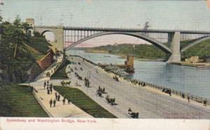 New York City Speedway and Washington Bridge 1907