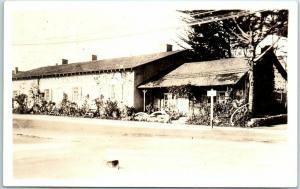 Monterey CA Real Photo RPPC Postcard First Theatre in California c1930s Unused
