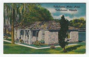 Tallahassee, Florida, View of Tallahassee Motor Hotel, 1950