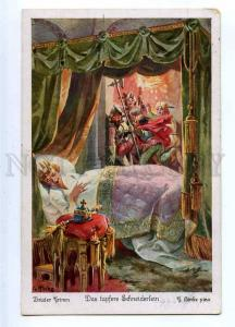 187235 Brothers Grimm KING Brave Tailor by HINKE Vintage PC