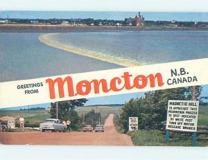 Pre-1980 TOWN VIEW SCENE Moncton New Brunswick NB p9570