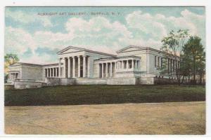 Albright Art Gallery Buffalo New York 1910c postcard