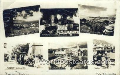Funchal, Oeste, Madeira Portugal Portuguese 1950 Missing Stamp