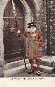 A Warder, The Tower Of London, England, UK, 1900-1910s
