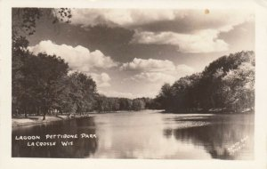 RP; LA CROSSE , Wisconsin, 1930-40s ; Lagoon Pettibone Park