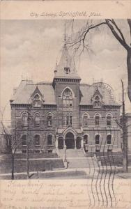 The Library Springfield Massachusetts 1904