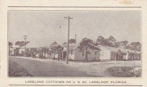 LAKELAND , Florida , 00-10s ; Lakeland Cottages on U.S. 92