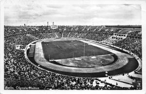 B13408 Stade Estade Stadium Sport Football Berlin Olympia Stadion 1956