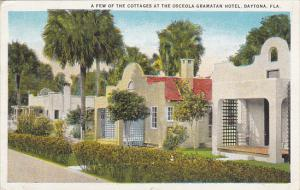 A Few Of The Cottages At Osceola Gramatan Hotel Daytona Florida 1925 Curteich