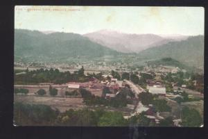 ASHLAND OREGON BIRDSEYE VIEW VINTAGE POSTCARD