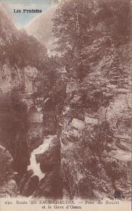 Pont De Hourat Et Le Gave d'Ossau, Route Des EAUX-CHAUDES, France, 1900-1910s