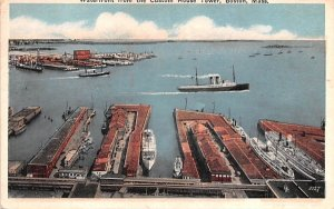 Waterfront  Boston, Massachusetts Postcard