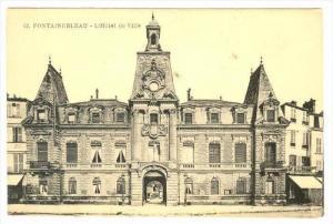 L'Hotel De Ville, Fontainebleau (Seine et Marne), France, 1900-1910s
