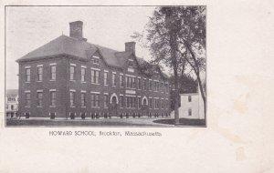 BROCKTON , Massachusetts , PU-1910; Howard School