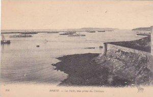 France Brest La Rade Vue Prise du Chateau