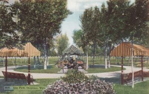 CHEYENNE, Wyoming, 1900-10s; City Park
