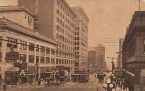 SEATTLE, Washington, 1911 , Second Avenue