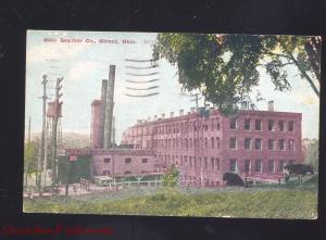 GIRARD OHIOOHIO LEATHER COMPANY FACTORY ANTIQUE VINTAGE POSTCARD